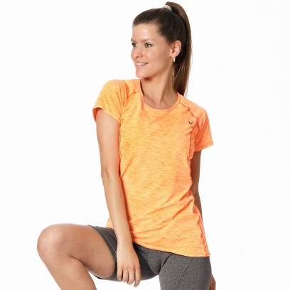 Remera Regular Micro Van Naranja