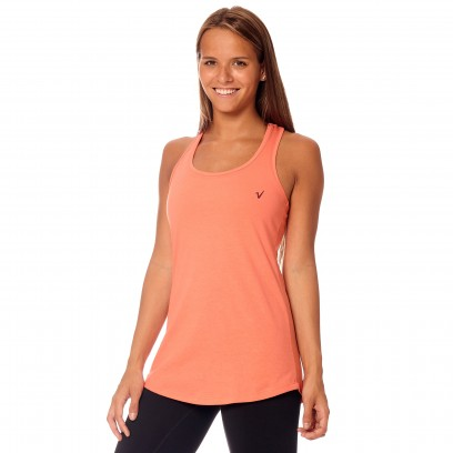 Musculosa regular Basic Coral