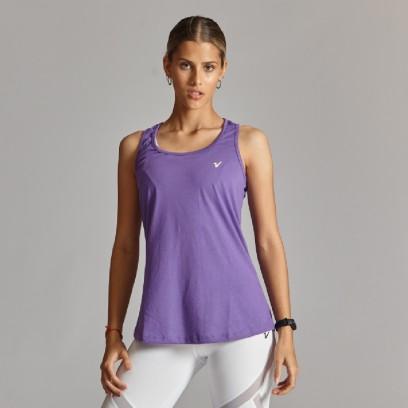 Musculosa regular Basic Violeta