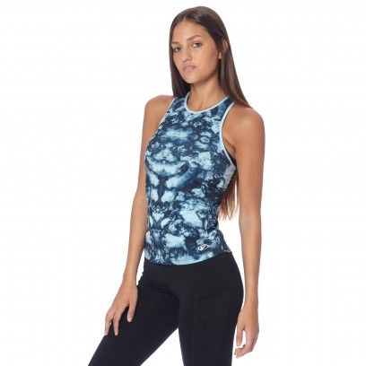 MUSCULOSA ESTAMPADO BATIQUE Celeste