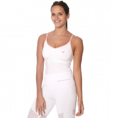 Musculosa Bees Blanco