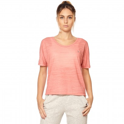 Remera Flamé Oversized coral