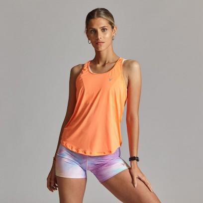 Musculosa deportiva de secado rápido Naranja