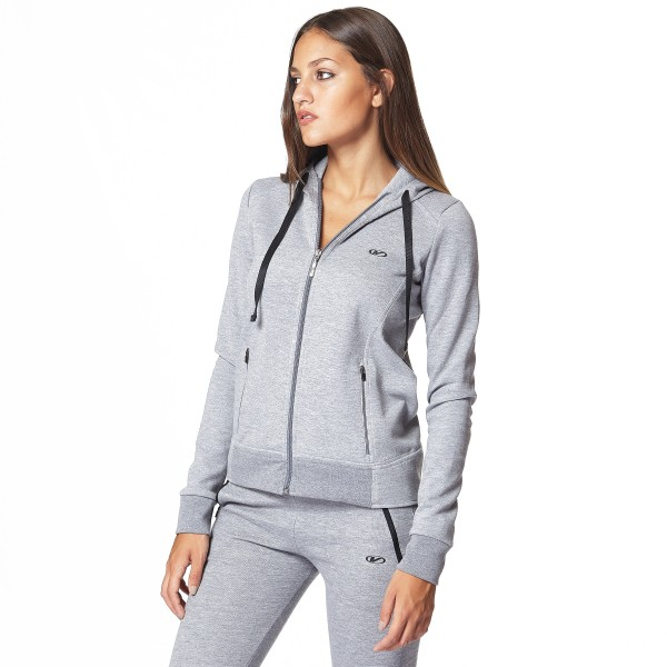 CAMPERA INTERTRAMA Gris melange