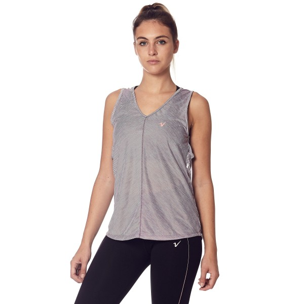 Musculosa On the road Lila