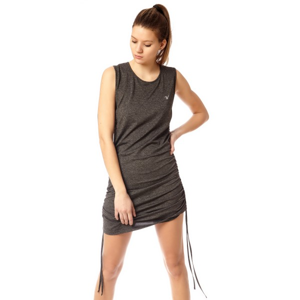 Vestido Unique Gris Melange