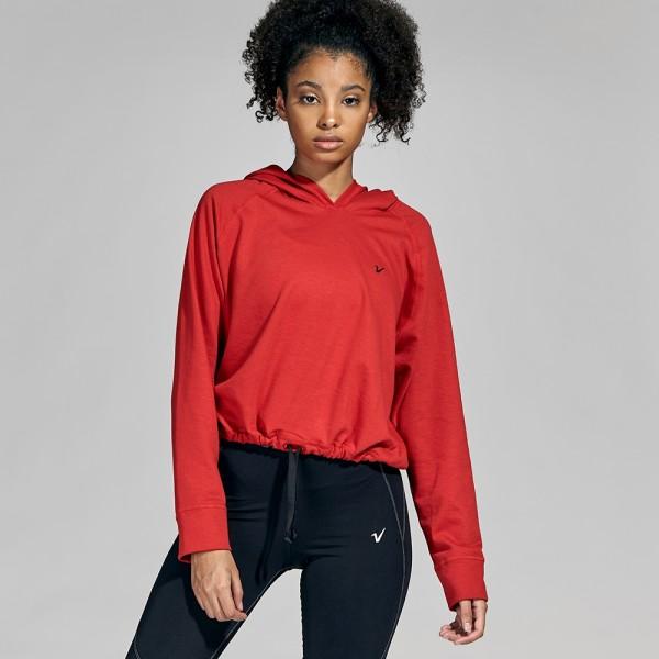Buzo corto ajustable Rojo