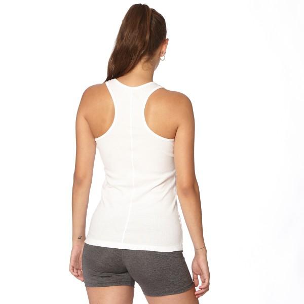 Musculosa con recorte Blanco