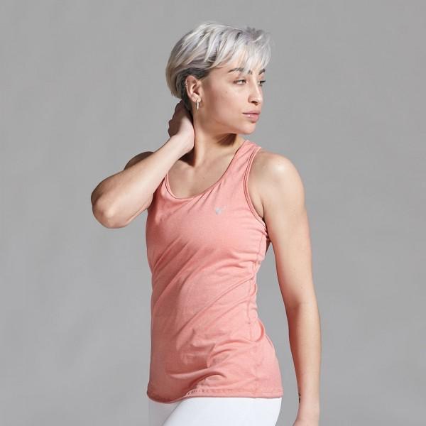 Musculosa deportiva Coral Pastel